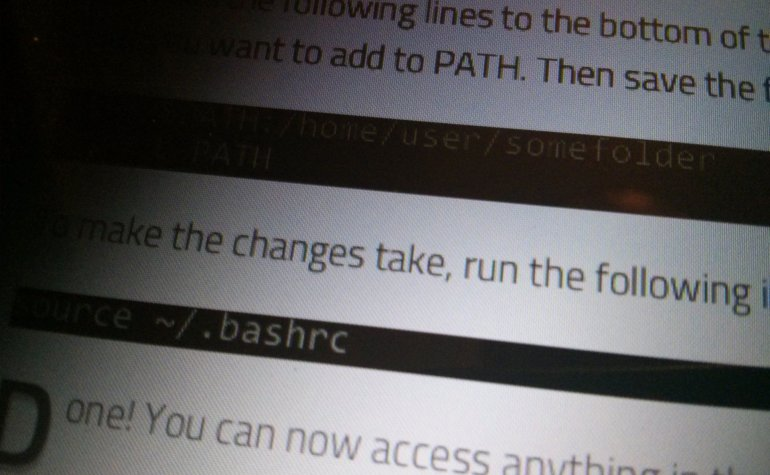 Add A Directory to PATH in Ubuntu 10.04