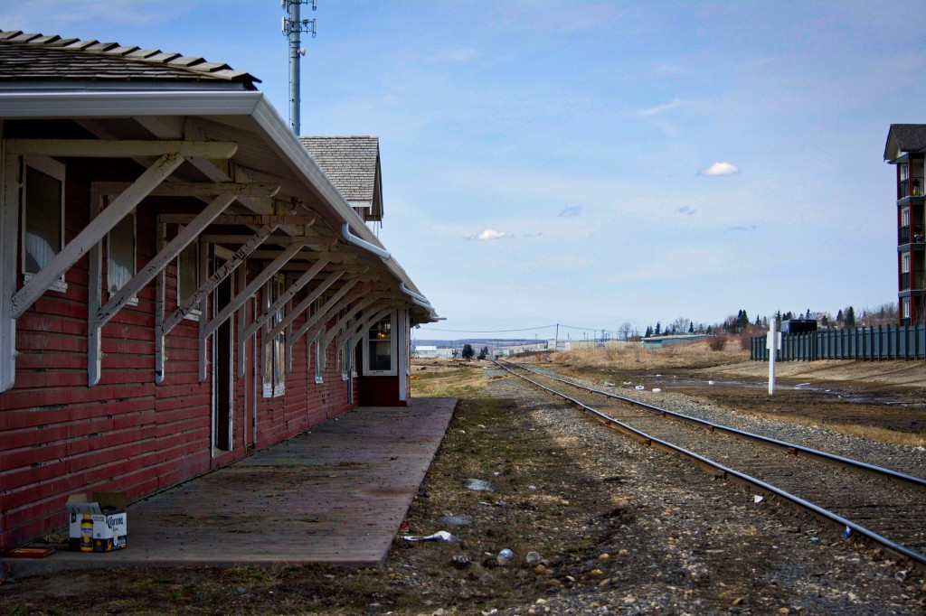 Not Jasper train station (actually Dawson Creek), but I didn't have a photo of the Jasper one!
